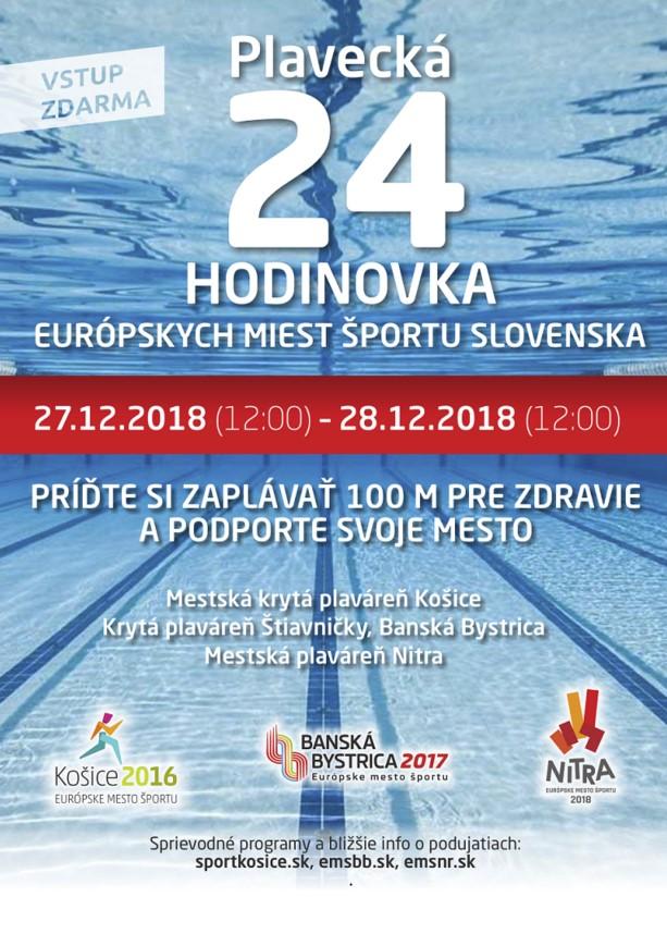 b32c2840052be Košice boli Európskym mestom športu v roku 2016, Banská Bystrica v roku  2017 a Nitra v tomto roku 2018. Práve tieto tri mestá budú od štvrtka 27.  decembra ...